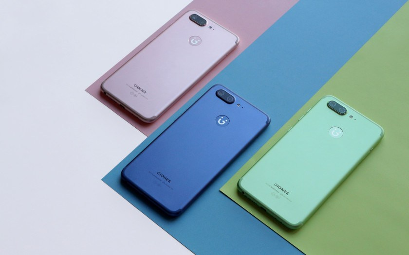 Top 5 Gionee Smartphones in India