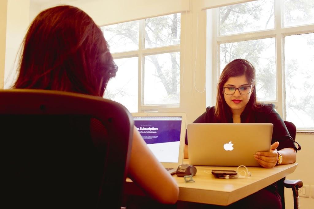 work in vertual office