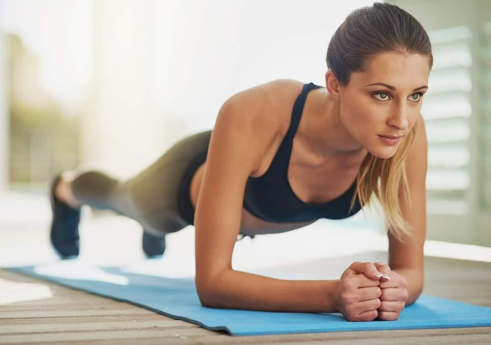 5 Tips for Improving Blood Flow plank