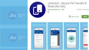 jioswitch file sharing app