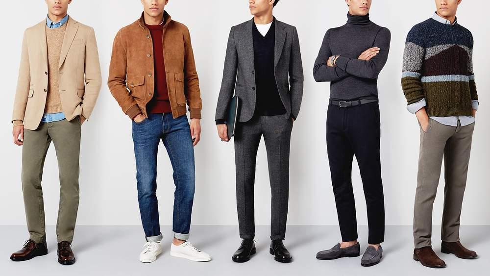 Men's To Dress Sharp in Winter Parties