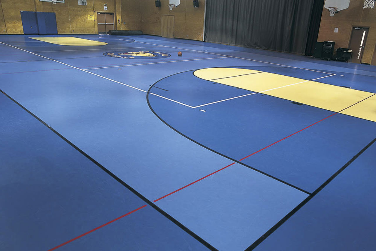 Sports flooring