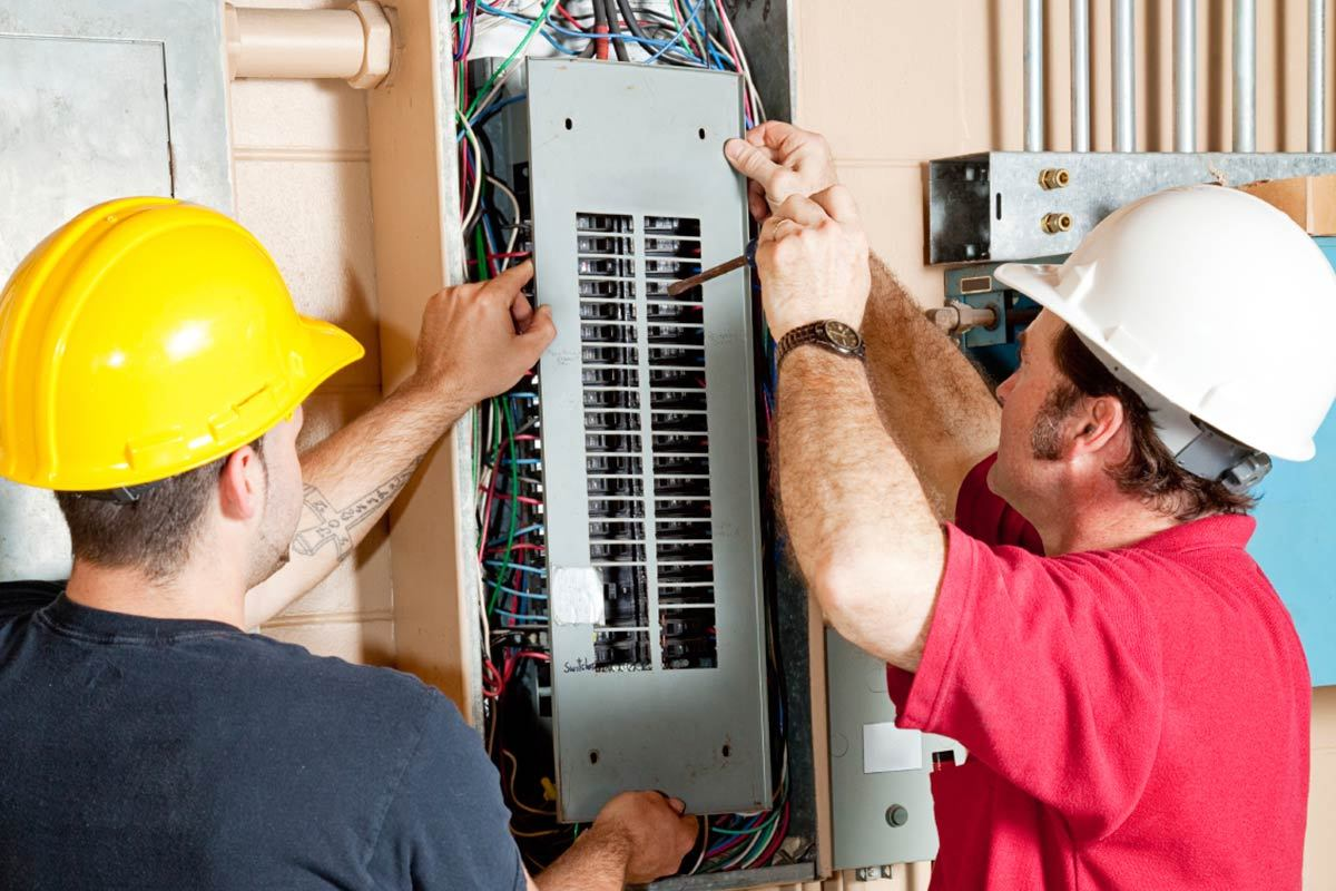 upgrading electrical panel