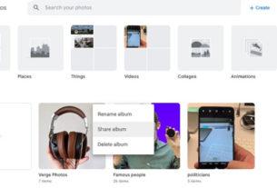 Google Photos Album