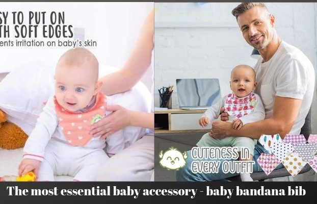 The most essential baby accessory - baby bandana bib