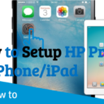 How to setup Hp Printer to iphone