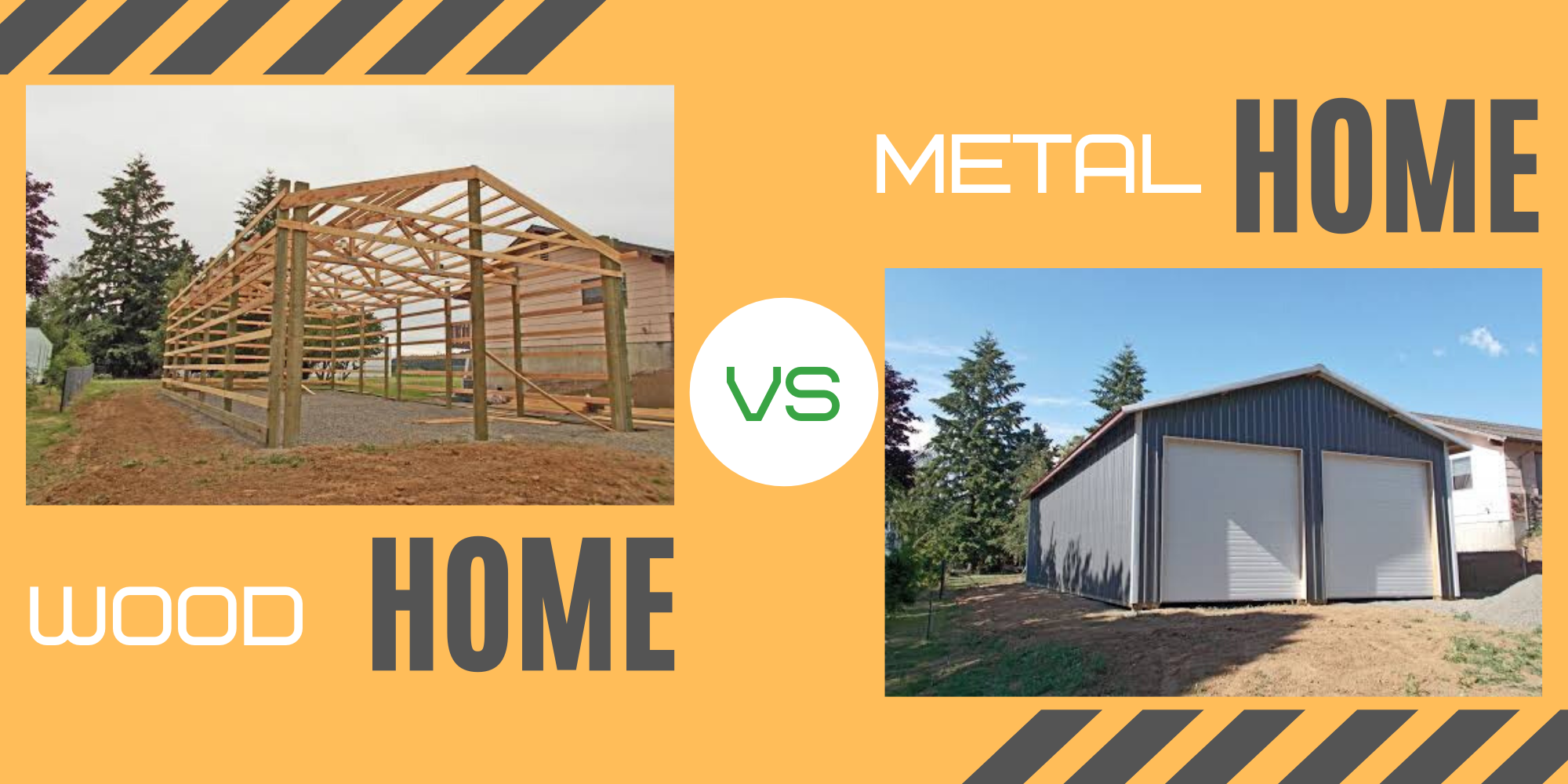 Metal Home vs Wood Home