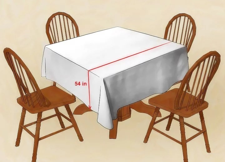 Tablecloth Size